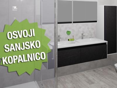 Osvoji sanjsko kopalnico! Pošlji fotografijo tvoje kopalnice, ki potrebuje prenovo, ali pa kar fotografijo tvoje sanjske kopalnice in sodelui v nagradni igri.
