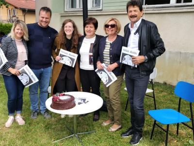 Ob 50-letnici zveze so izdali brezplačni kulturni časopis Kulturna z(a)veza. (Foto: Štajerski val)