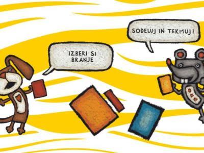 V celjski knjižnici otroke spodbujajo, naj tudi med počitnicami med vsemi dogodivščinami izberejo tudi branje. (Foto: FB Osrednja knjižnica Celje)