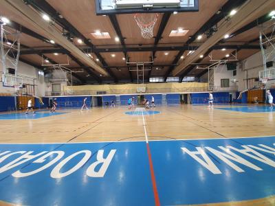 Ali bodo košarkarji tekme, ki se začenjajo v drugi polovici septembra, igrali pred praznimi tribunami, še ni znano. (Foto: Štajerski val)