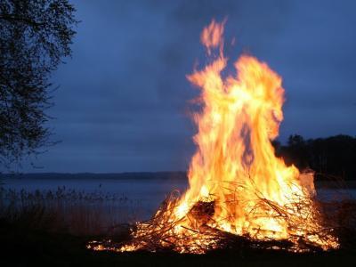 Kurjenje kresov ni dovoljeno zaradi velike požarne ogroženosti. (Foto: Pixabay)