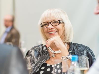 Danica Godec je bila pobudnica ter nato dolga leta ustvarjalka in voditeljica Štajerskega valčka. (Foto: Fotografiraj.si)