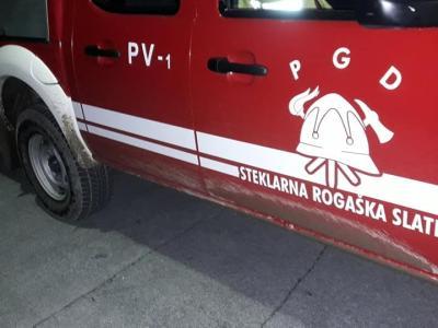 Gasilci PGD Steklarna Rogaška so pohiteli na pomoč v Lemberg. (Fotografije je simbolična, foto: PGD Steklarna Rogaška)