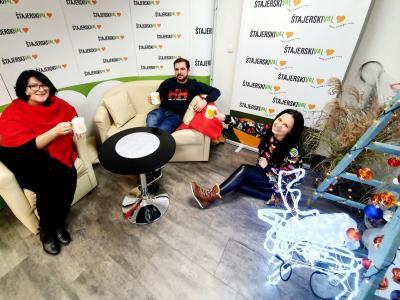 Davor in Nina sta tokrat na drugo kavo povabila radijsko šefico Greto Kokot Rajković.