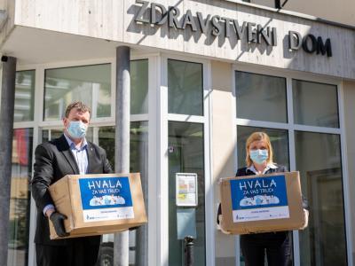 Donacijo je prejelo 23 zdravstvenih zavodov. (Foto: ECE)