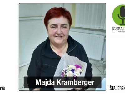 Poslušalci ste največ glasov tokrat namenili Rogatčanki Majdi Kramberger. (Foto: ŠV, osebni arhiv)