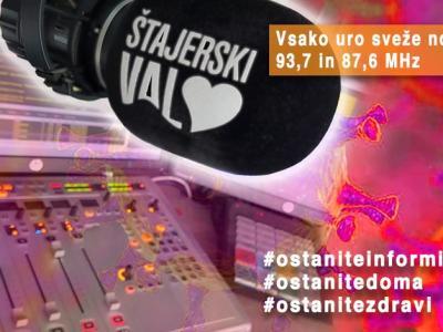 Radio Štajerski val ostaja najbolj poslušani regionalni radio v Obsotelju in na Kozjanskem