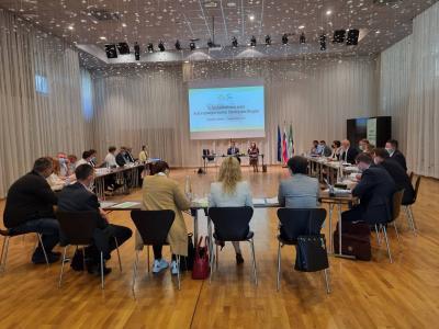 Ustanovna seja Razvojnega sveta Savinjske regije za programsko obdobje 2021–2027 v Aninem dvoru v Rogaški Slatini
