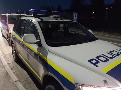 Policijski lov na roparja se je končal na Konjiškem. (Foto: Radio Štajerski val)