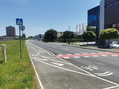 Drugo fazo projekta, ki je sofinanciran z evropskim in državnim denarjem, so v Žalcu končali v treh letih. (Foto: Občina Žalec)