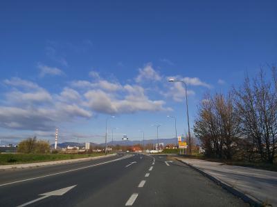 Novo krožišče naj bi bilo končano v začetku prihodnjega leta. (Foto: Radio Štajerski val)