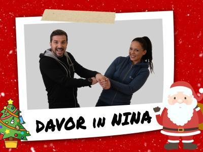 Nina in Davor se z vami skupaj prebujata že skoraj dva meseca. (Foto: Blaž Lah)