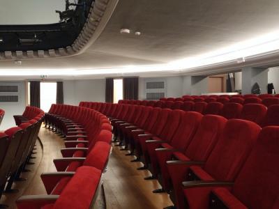 Prenovljena velika dvorana bo najverjetneje lahko le 25-odstotno zasedena. (Foto: Radio Štajerski val)