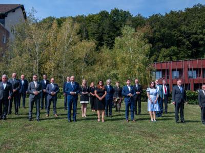 Vlada je svoj obisk Savinjske regije začela z delovnim posvetom v Podčetrtku. (Foto: Vlada RS)