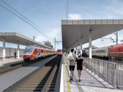 Po več letih čakanja se bodo s pridobitvijo gradbenega dovoljenja le lahko začela dela za ureditev vozlišča in železniške postaje na Pragerskem. (Foto: Ministrstvo za infrastrulturo)