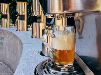 Piva boste na Fontani piv Zeleno zlato lahko okušali od sobote od 14. ure. (Foto: FB Fontana piv Zeleno zlato)