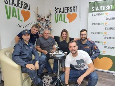 Šentjurski gasilci Denis, Davor, Jure in Danilo bodo gasilsko znanje pokazali v šovu Gasilci.