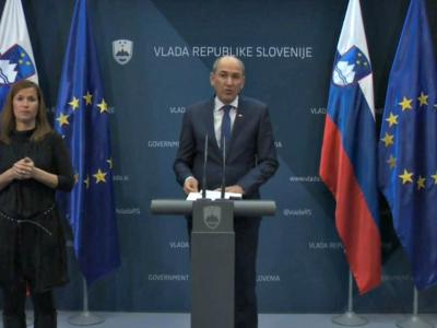 Premier Janez Janša je skupaj z ekipo načrtovane ukrepe predstavil na dopoldanski novinarski konferenci.