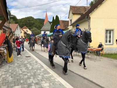 Tudi konjenica je prišla v srednjeveški Lemberg. (Foto: Štajerski val)