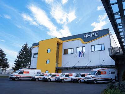 Sedež podjetja AHAC z glavnim skladiščem v Šentjurju (foto: Ahac)