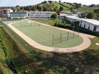 Takšno je novo športno igrišče pri OŠ Kajetana Koviča Poljčane. (Foto: občina Poljčane)
