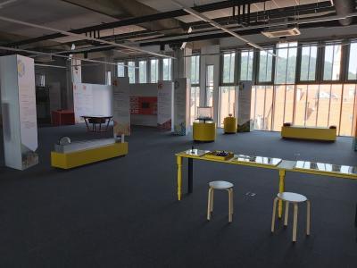 Tehnopark Celje naj bi vrata odprl v prvem tednu septembra. (Foto: Radio Štajerski val)
