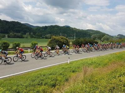 Takole so kolesarji v minulih letih že drveli po šentjurskih cestah. (Foto: Štajerski val)