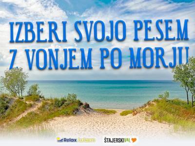 Če morja za 1. maj ni, vam ga pripeljemo mi. S tistimi najlepšimi za valove, sprehode ob morju in lepe spomine.