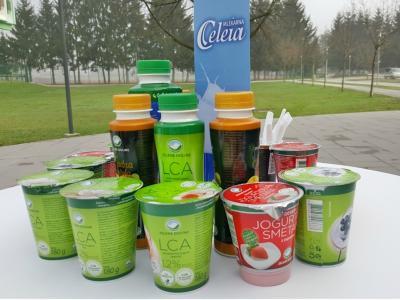 V Mlekarni Celeia proizvajajo različne vrste jogurtov, različne vrste kisle smetane, sire in različne mlečne namaze. (Foto: Štajerski val)