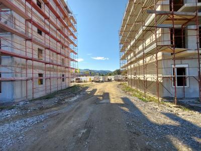 V prvih dveh blokih bo 50 novih neprofitnih stanovanj. (Foto: Nepremičnine Celje)