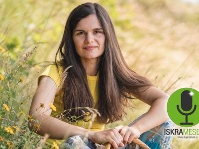 Karmen Gajšek, ki poziva, naj se znova bolj povežemo z naravo, vas je najbolj prepričala. Njena izjava je iskra meseca septembra.