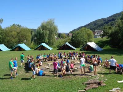 Takole je bilo na taboru v Kozjem pred štirimi leti. (Foto: Radio Štajerski val)