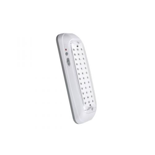 Baterijska svetilka, LED, polnilna, RINA, 36x0,1W, DIP, hladno bela, PC/ABS, belo-siva, 1/8, (R5) - Luči