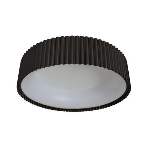 LED svetilka, stropna, TANIA-AS46, okrogla, 21/42/21/2W, SMD, toplo-hladno bela, 1092/2226/1113/40lm, IP20, črna/bela, 1/1, (R4) - Luči