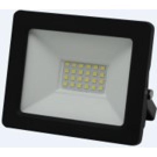 LED reflektor, stenski, INDUS 3, pravokoten, 20W, SMD, hladno bela, 2000lm, IP65, temno siva, 1/24, (R4) - Luči