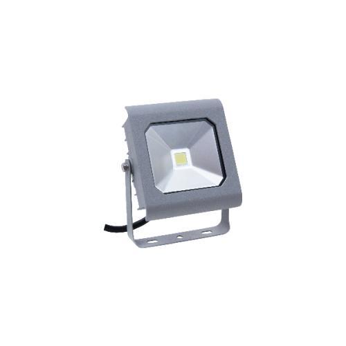 LED reflektor, stenski, AMAZON, pravokoten, 10W, COB, hladno bela, 950lm, IP65, siva, 1/30, (R5)