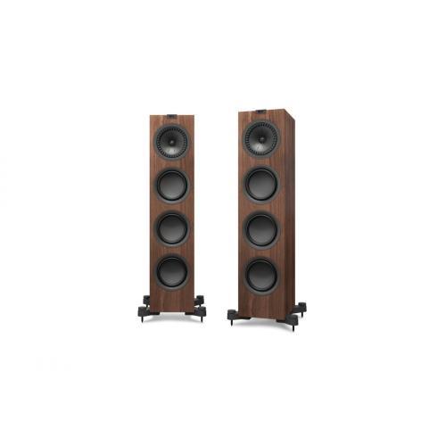 KEF Q750 zvočniki oreh