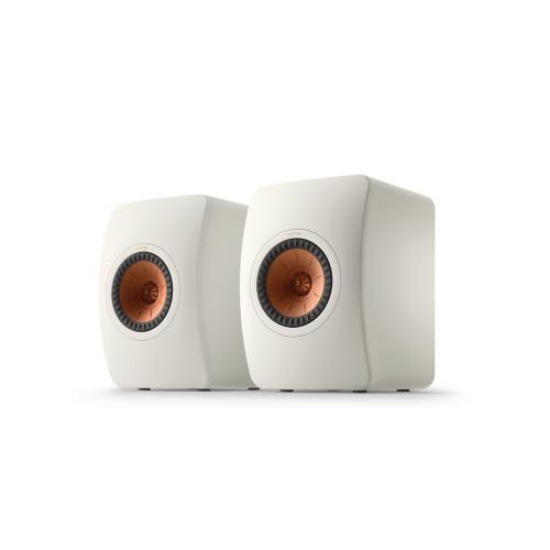 KEF LS50 Meta zvočniki Mineralno bela