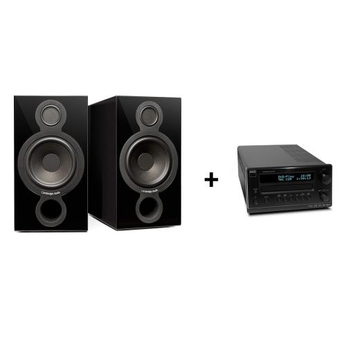 Cambridge Audio Aeromax 2 zvočniki + NAD C717 SPREJEMNIK A / V STEREO HI-FI