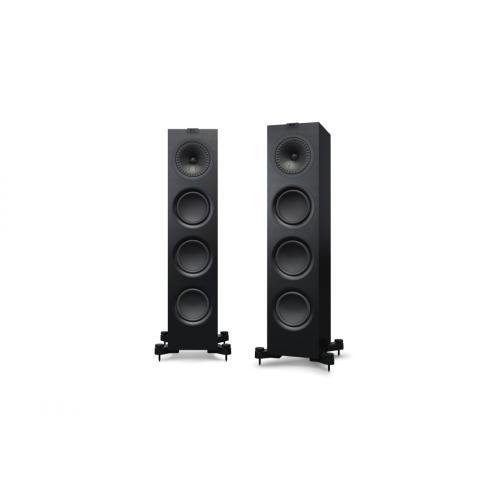 KEF Q750 zvočniki črna