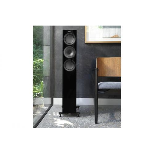 KEF R5 črna - Samostoječi