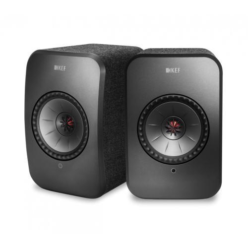KEF LSX Wireless bela - Aktivni zvočniki