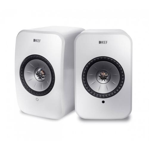 KEF LSX Wireless zvočniki črna
