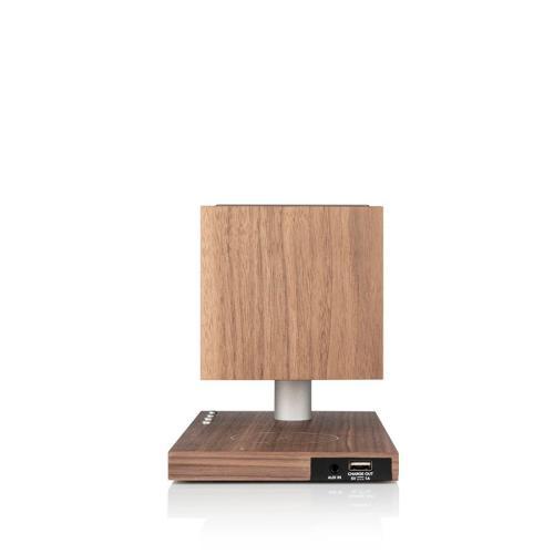 Tivoli Audio Revive bluetooth zvočnik z brezžičnim polnilnikom in žarnico OREH/SIVA