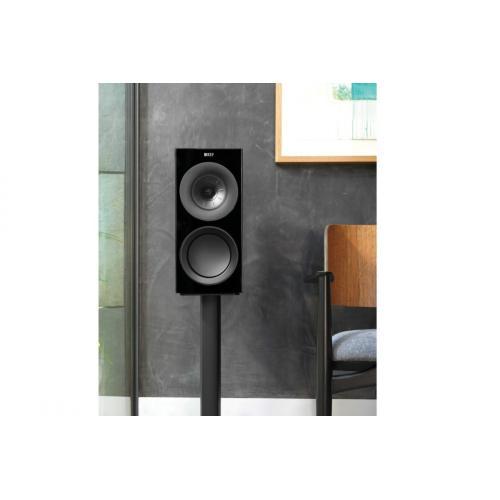 KEF R3 zvočniki oreh rjava