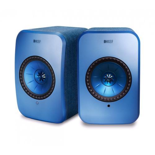 KEF LSX Wireless zelena - Aktivni zvočniki