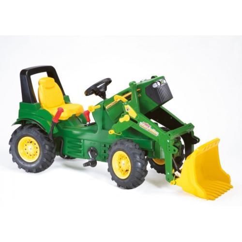 Traktor John Deere 7930 gumi kolesa z nakladalcem - Vozila na pedala