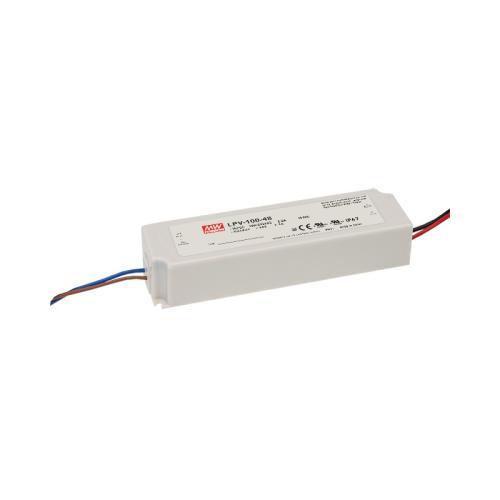 Napajalnik, za LED, CV, LPV, 24V, 100W, ON/OFF, IP67, 1/20, (R6) - Napajalniki