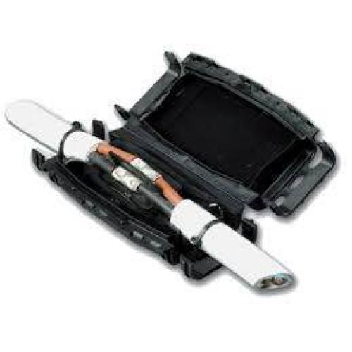 GEL kabelski spoj, IP68, ravni, 100mm, črn, (R5)