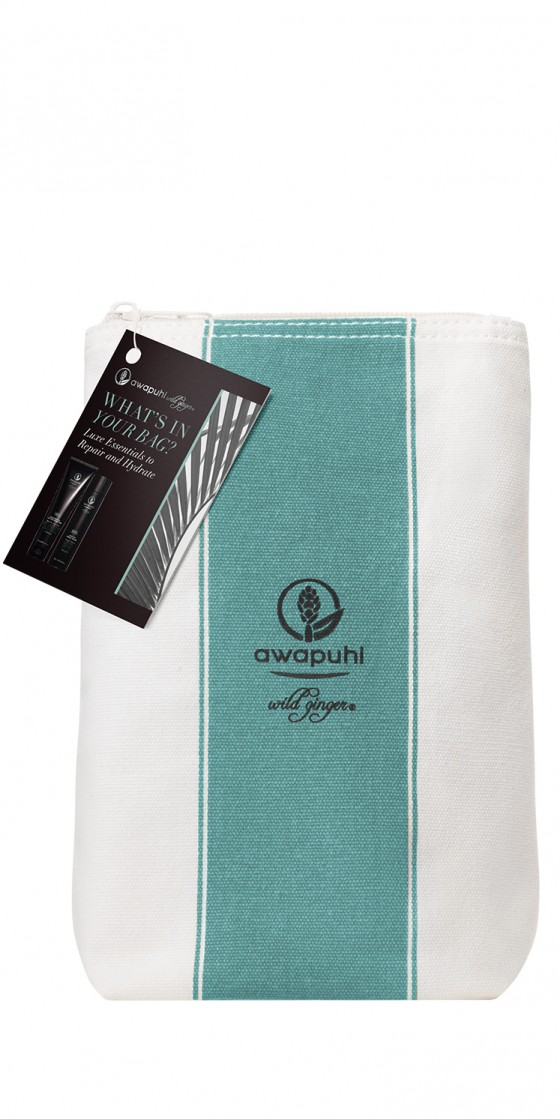 WHAT'S IN YOUR BAG AWAPUHI WILD GINGER